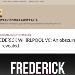 Frederick Whirlpool Vc Review